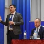 Дмитрий Хубезов посетил Рыбновский район