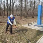 В Рыбновском районе благоустроили мемориал летчикам, погибшим в годы Великой Отечественной войны