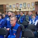 Партийцы поздравили сотрудников  Дмитровской подстанции скорой помощи с профессиональным праздником
