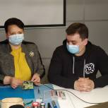 Елена Митина приняла участие в съемках видеосюжета, посвященного Всемирному дню охраны труда
