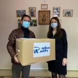 Волонтёрский центр партии «Единая Россия» передал маски в детский дом «Солнечный»