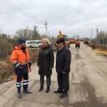 Ремонт участка дороги в Кадомском районе находится на контроле единороссов
