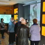 Выставку «Иваново — город трудовой доблести» посетили ветераны Фрунзенского района