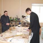 Усилиями «Единой России» открыта мастерская для обучения резьбе по дереву