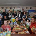 18 сельских библиотек получили в подарок новые книги от «Единой России»