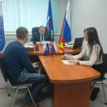 Виктор Горбунов провел прием граждан