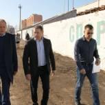 Стадион «Химик» в Энгельсе отремонтируют в рамках проекта «Единой России»