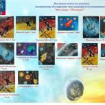 В ХМАО «Единая Россия» поддержала конкурс рисунков, организованный к 60-летию первого полета человека в космос