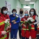 «Единая Россия» поздравила в Мурманской области работников скорой помощи