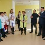Андрей Голубев привёз в Каширу «Десант детских врачей»