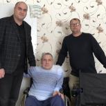 Городецкий депутат помог жителю поселка Зиняки приобрести инвалидное кресло с электроприводом