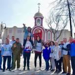 Единороссы Балашихи приняли участие в общегородском субботнике