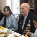 Муниципальный депутат организовал встречу с ветераном  войны для воспитанников Центра содействия семейному воспитанию «Радуга»