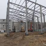 Николай Валуев побывал на строящихся спортивных объектах в Брянске