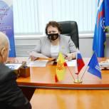 Альбина Егорова провела прием граждан