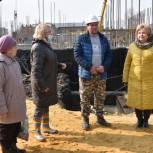 В городе Сасово продолжается строительство нового здания школы №1