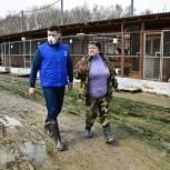 Волонтеры передали корм приютам для животных в Московской и Архангельской областях