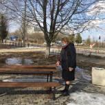 Единороссы Пронского района проводят мониторинг объектов, благоустроенных в рамках партпроекта «Городская среда»