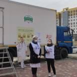 В рамках партпроекта «Здоровое будущее» в Волгограде стартовала акция бесплатной массовой вакцинации от COVID-19