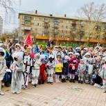В честь Дня космонавтики в Ленинском районе состоялось первое космическое шествие по улице имени Юрия Гагарина