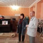 Андрей Корнеев пригласил жителей села Генеральское принять участие в субботнике