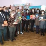 Татьяна Панфилова и Владимир Рожков поддержали акцию «Лучший подарок − книга!»