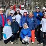 Для тюменцев организовали спортивный праздник на свежем воздухе