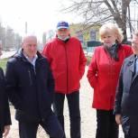Панков: Тротуары должны быть отремонтированы не возле чиновничьих зданий, а там, где нужны людям