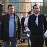 Щелковские единороссы и молодогвардейцы приняли участие в открытии скейт-парка