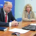 Замминистра здравоохранения региона принял участие в тематической неделе приемов