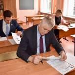 Тарас Ефимов написал «Диктант Победы» вместе с жителями мкр Керамик