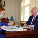 Герой России Андрей Красов подал документы для участия в предварительном голосовании «Единой России»