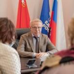 Вячеслав Фетисов провел прием в Ленинском округе в рамках региональной недели