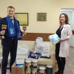 Депутат Мособлдумы передал в психоневрологический диспансер Люберец краску и кисти  для покраски забора и здания