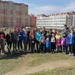 Единороссы присоединились к субботнику в Щелково-7