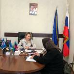 Депутат Анна Безрукова рассмотрела обращения граждан в Приемной «Единой России»