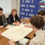 Надежда Гудкова поддержала проект ноябрьских школьников Simple Yard – простой двор
