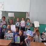 В сельских школах Ульяновской области состоялись мастер-классы «Рисуем космос»