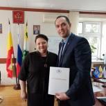 Елена Митина обсудила инициативы президента с единороссами Пронского района
