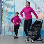 В Хабаровске «Единая Россия» организовала тренировку на открытом воздухе для молодых мам