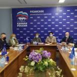 На заседании депутатского центра обсудили организацию парковочного пространства и ремонт спортзалов