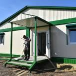 В селе Караулово строится новый фельдшерско-акушерский пункт
