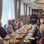 Дамир Фахрутдинов встретился с «детьми войны» и тружениками тыла