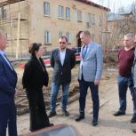Депутат Мособлдумы Ирина Слуцкая проверила ремонт кровель в городском округе Черноголовка
