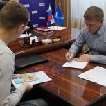 Сергей Смирнов помог решить вопрос разграничения земельных участков