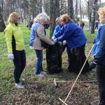 В ЦФО десятки тысяч активистов «Единой России» навели порядок на объектах городской среды