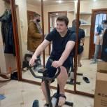 Велотренажер для ребенка-инвалида подарила депутат Гордумы Краснодара