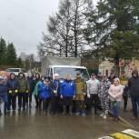 Щелковские единороссы приняли участие в общеобластном субботнике