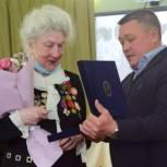 Единороссы поздравили Совет Ветеранов в Лабытнанги с юбилеем