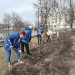 Единороссы Рязанской области проводят субботники